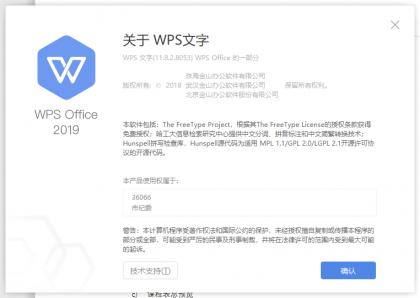 WPS 2019 专业版 政府版