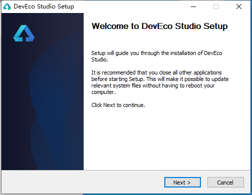 鸿蒙开发工具devecostudio-windows-tool-2.0.8.203